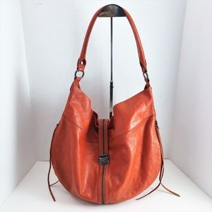 Rebecca Minkoff Darling Large Hobo Orange Leather